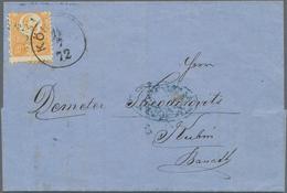 Alle Welt: 1834-1950, Album Containing Coverds & Cards, From Preadhesive To Semi-modern, Australia, - Sammlungen (ohne Album)