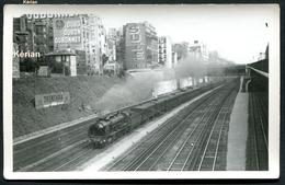 Photo P. Laurent - Paris 1942 - OUEST - Ligne Paris - Evreux - Caen - Locomotive 231-D SNCF - Treinen