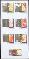 Thematische Philatelie: 1969/1989. Interesting Accumulation With Different Kinds Of PROOFS (progress - Briefmarken