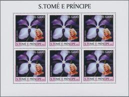 Thematische Philatelie: 2001/2003 (approx), Guinea, St. Thomas And Principe Et Al. A Big Lot Of Diff - Briefmarken