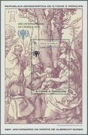 Thematik: Druck-Dürer / Printing-Dürer: 1980, SAO TOME E PRINCIPE: Christmas And Internat. Year Of C - Künste