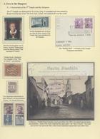"Thematik: Judaika / Judaism: ""CHAPTER IN JEWISH HISTORY"" - THE HISTORY OF ZIONISM - THE ARIE LINDENB - Briefmarken"
