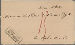 Thematik: Konsulatspost / Consular Mail: 1828/1940, Gehaltvolle Partie Mit 23 Belegen, Dabei Hauptsä - Briefmarken