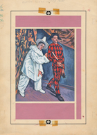 Thematik: Malerei, Maler / Painting, Painters: 1967, European Paintings, Complete Set, Seven Artwork - Künste