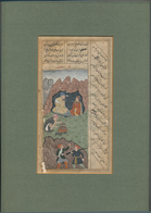Thematik: Malerei, Maler / Painting, Painters: SOUTHERN/WESTERN ASIA (India-Persia-Mongolia), Hand-d - Künste