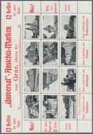 Thematik: Vignetten,Werbemarken / Vignettes, Commercial Stamps: 1910-1930, Posten Mit Geschätzt über - Vignetten (Erinnophilie)