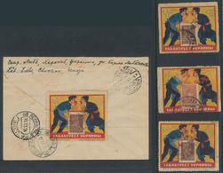 Thematik: Vignetten,Werbemarken / Vignettes, Commercial Stamps: SOWJET UNION. 1920/1925 (ca). Except - Vignetten (Erinnophilie)