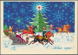 Thematik: Weihnachten / Christmas: 1942/1995 (ca.) Stationeries Ca. 786 Used/unused/CTO Pictured Pos - Weihnachten