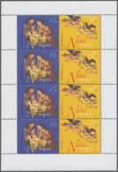 "Thematik: Weihnachten / Christmas: 2003, Angola: ""CHRISTMAS "", Complete Set Of 4 In Miniature Sheets - Weihnachten"