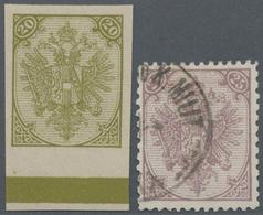 "Bosnien Und Herzegowina: 1879/1899, Definitives ""Double Eagle"", Specialised Assortment Of 115 Stamps - Bosnien-Herzegowina"