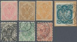 "Bosnien Und Herzegowina: 1895/1905, Definitives ""Double Eagle"", Specialised Assortment Of Apprx. 129 - Bosnien-Herzegowina"