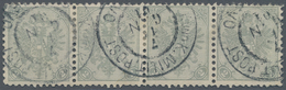 "Bosnien Und Herzegowina: 1900, Definitives ""Double Eagle"", 2h. Grey, Specialised Assortment Of 19 St - Bosnien-Herzegowina"