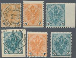 "Bosnien Und Herzegowina: 1901/1905, Definitives ""Double Eagle"", Specialised Assortment Of Apprx. 71 - Bosnien-Herzegowina"