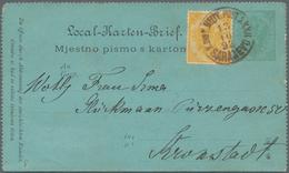 Bosnien Und Herzegowina - Ganzsachen: 1882/1918, Assortment Of 20 (mainly Used) Stationeries Compris - Bosnien-Herzegowina