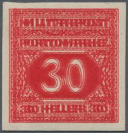 Bosnien Und Herzegowina - Besonderheiten: POSTAGE DUES 1916/1918, Lot Of Six Mint And Two Used Sets, - Bosnien-Herzegowina
