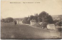 18 - SAINT-FLORENT (Cher) - Route De Chateauneuf - La Turbine. CPA Ayant Circulé. - Saint-Florent-sur-Cher