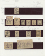 Litauen: 1918/1919, Specialised Collection Of About 220 Stamps Ex Michel-No. 1-26 On 14 Pages Genuin - Litauen
