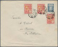 Litauen - Ganzsachen: 1925/1939, Lot Of Eleven Stationeries (eight Used, Three Unused). - Litauen
