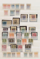 Mittellitauen: 1920/1922, Mint And Used Assortment/collection Of Apprx. 107 Stamps (plus Some Forger - Litauen