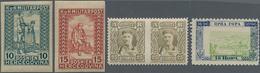 Montenegro: 1874/1945, Montenegro And Yugoslavian Area, Specialised Assortment Of Apprx. 86 Stamps I - Montenegro