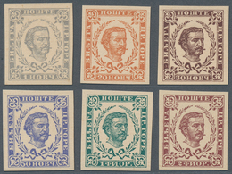 "Montenegro: 1894/1898, Definitives ""Nikola"", Specialised Assortment Of Apprx. 62 Stamps Incl. Blocks - Montenegro"