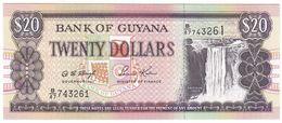 Guyana P 30 - 20 Dollars 1996 - UNC - Guyana