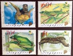 Singapore 1993 Amphibians & Reptiles MNH - Rettili & Anfibi