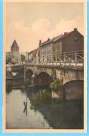 Han-sur-Lesse (Rochefort-Belgique)-écrite En 1951-Le Pont De La Lesse-L'Eglise-Edit.Artcolor, Bruxelles-colorisée - Rochefort