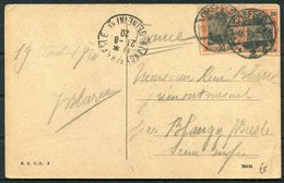 1920 Germany Crefeld Bismarckplatz Postcard - Blangy Sur Bresle, France - Deutschland