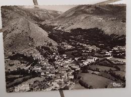 ANGOUSTRINE (66) - Vue Panoramique Aérienne Et La Vallée St Martin - Autres Communes