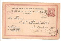 Ra3 Hannover/Linden 14.5.80-Fragekarte ! Zutphen - Briefe U. Dokumente