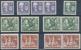 Schweden: 1938/1939, Seven Complete Year Sets 1938 And Six Sets 1939 (only Mi. No. 272 Dr Missing) M - Schweden
