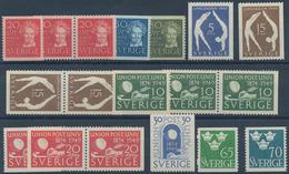 Schweden: 1949, Complete Year Sets Per 200 MNH, Michel 2940,- € - Schweden