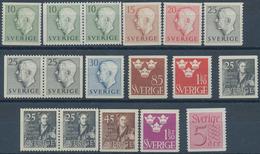 Schweden: 1951, Complete Year Sets Per 200 MNH, Michel 2720,- € - Schweden
