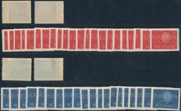 Schweden: 1960; 1980; 1982; 1984, FIXED PAPER WEB (geklebte Papierbahn), Lot Of The Europa-Cept Issu - Schweden