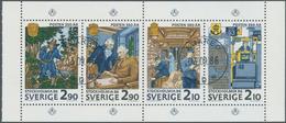 Schweden: 1986, International Stamp Exhibition STOCKHOLMIA (350 Years Swedish Post) Set In A Lot Wit - Schweden