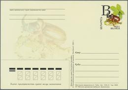 Weißrussland (Belarus): 1991/2001 Ca. 1.190 Postal Stationary Postcards, Mostly Picture Postcards, I - Belarus