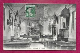 61/ ORNE... SAINT MARTIN D'ASPRES. Intérieur De L'Eglise - France