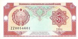 5 Som Usbekistan 1994 UNC - Usbekistan