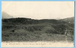 CPA 73 AIX LES BAINS Plateau Du Revard (précurseur) - Aix Les Bains
