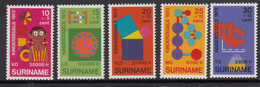 Suriname MNH NVPH Nr 638/42 From 1972 / Catw 4.00 EUR - Suriname