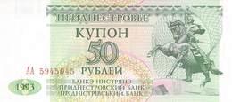 50 Rubel  Transnistrischen Moldauische Republik, 1993 UNC - Sonstige – Europa