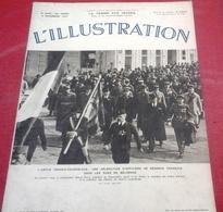 L'Illustration N°4940 Novembre 1937 Guerre Espagne Franco Conquète Asturies Aragon,Chine Changhai Nankin,Canaries - 1900 - 1949