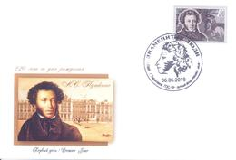 2019. Transnistria, Famous Persons, A. Pushkin, Great Poet Of Russia,  FDC, Mint/** - Moldova