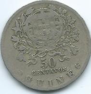Guinea-Bissau / Portuguese - 1933 - 50 Centavos - KM4 - Scarce - Guinea-Bissau