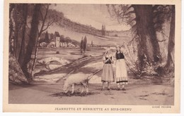 90 -  LE MYSTERE DE JEANNE D'ARC Au Théâtre De La Passion à BELFORT - Jeannette Et Henriette Au Bois-Chenu - Théâtre