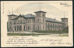 1902 Germany Breslau Friebeberg Postcard - Leiden Holland - Storia Postale