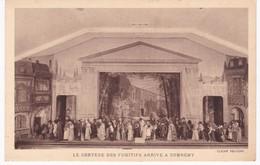 90 -  LE MYSTERE DE JEANNE D'ARC Au Théâtre De La Passion à BELFORT - Le Cortège Des Fugitifs à Domrémy - Teatro