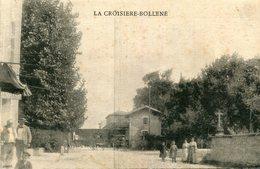 BOLLENE - La Croisière Quartier Avec Train En Gare Croix Cimetière ? - Bollene