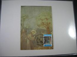 "BELG.1982 2070 FDC Maxicard : "" Sint Franciscus Van Assisi / Saint Francois D'Assisi "" "" - 1981-90"